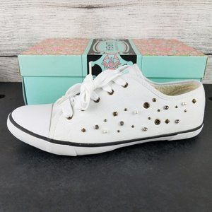 NEW CL Embellished Canvas Fashion Sneaker shoes …